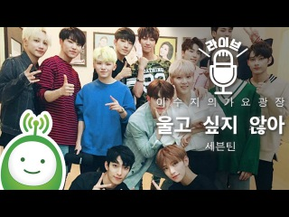[170608] Seventeen - Don't Wanna Cry @ KBS Cool FM Lee Suji's Gayo Plaza Radio