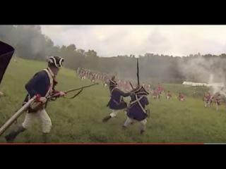 Patriot's POV fighting in the Revolutionary War