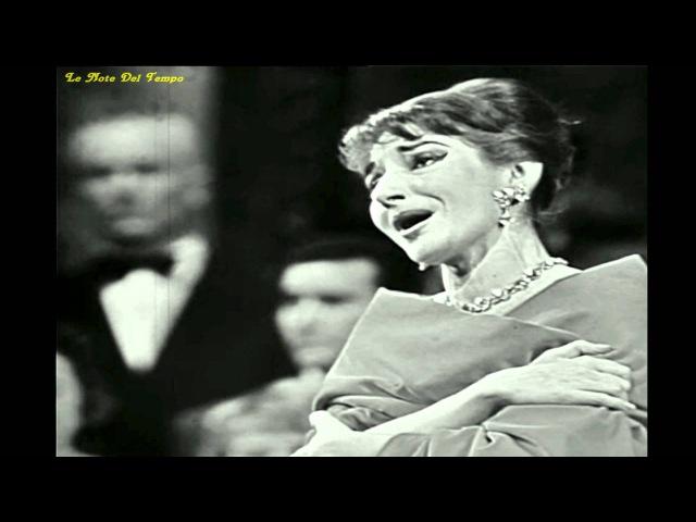 Maria Callas Casta Diva live Parigi 1958