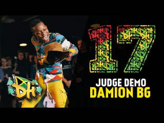 DHI RUSSIA 2017 - JUDGE DEMO - DAMION BG DANCER (Jamaica) |