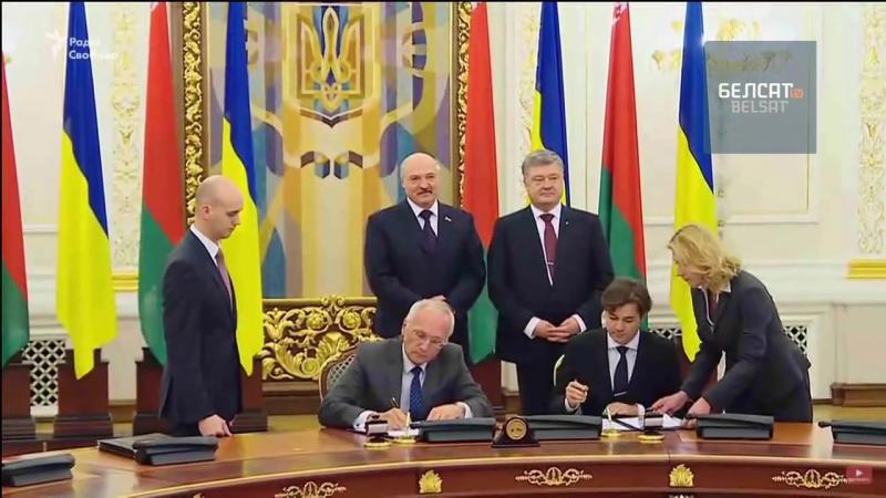 У Кіеве Лукашэнка пабачыў жаночыя грудзі і пачуў Жыве Беларусь
