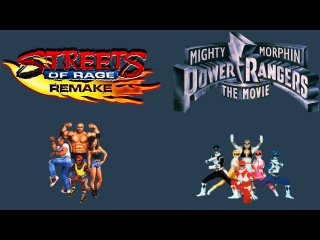 SoRR v5.1: Power Rangers - The Movie mod (PC) 60fps
