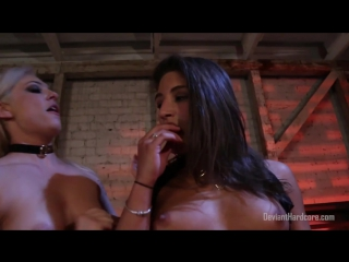 Deviant devil - dahlia sky [2017, lesbian, bondage, femdom, maledom, fetish, sex toy play, strapons, новый фильм, hd 1080p]