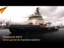 Yeni nesil buzkıran gemisi İlya Muromets deneme turunda