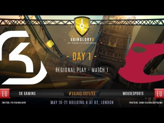 Vainglory 8 London: SK Gaming vs Mousesports