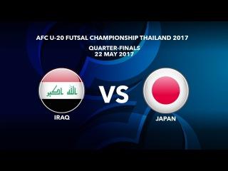 #AFCU20FC THAILAND 2017 - M48 Iraq vs Japan - Video News