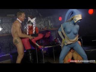 Alessa savage, aria alexander, eva lovia - star wars underworld [xxx porn parody. scene 6. звездные войны порно пародия]