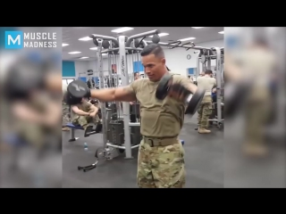 Super soldier fit strong