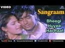 Bheegi Huyee Hai Raat Full Video Song | Sangraam | Ajay Devgan, Ayesha Jhulka | Romantic Hindi Song