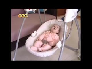 Электрокачели для новорожденных - электронные качели для малышей