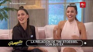 """Pampita Online on Instagram: """"Tarde de confesiones en #PampitaOnline: ¿Se vuelve con un ex? 🤔😳 Mirá la respuesta de @tinitastoessel 🤯"""""""