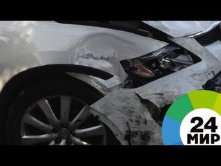 В Иркутске открылась выставка разбитых в ДТП автомобилей - МИР 24