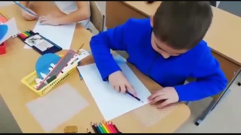 Мастер класс по ИЗО в технике фроттаж