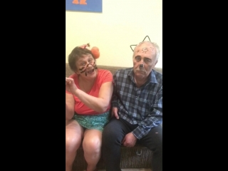 дед и бабка вместе шалят