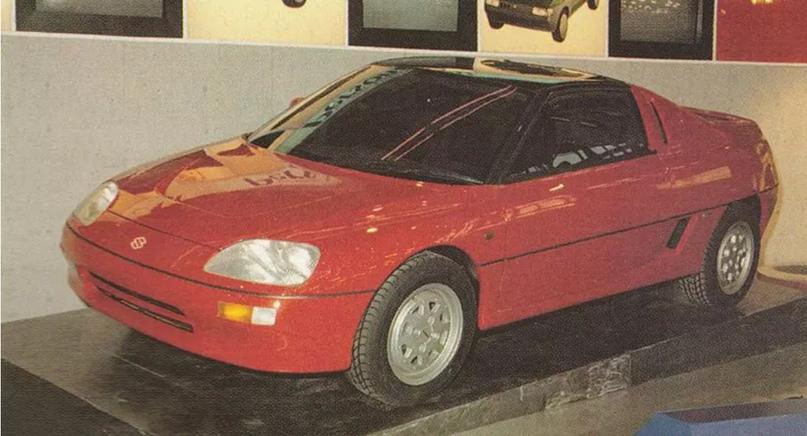 700 килограммов ярости редкого спорткара Autozam AZ-1, который и Suzuki, и Mazda., изображение №2