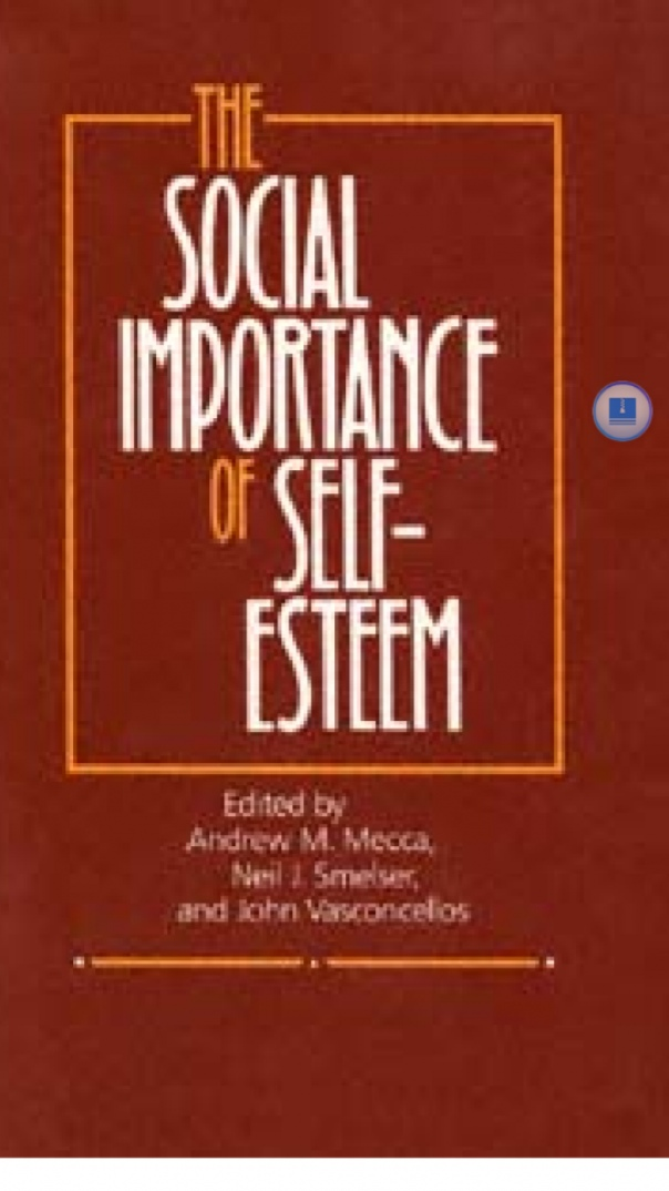 the social importance of self esteem