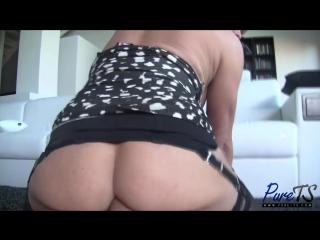 Joanna Jet - mature blonde Joanna Jet wants your cock! (Трансы порно shemale ladyboys Tranny porn  sissy tranny трапы анал)