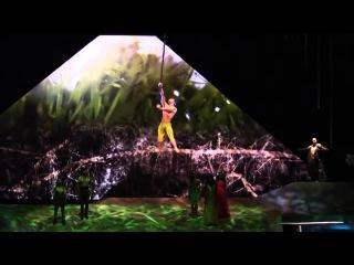 Cirque du Soleil Act, Saulo Sarmiento, Aerial Pole