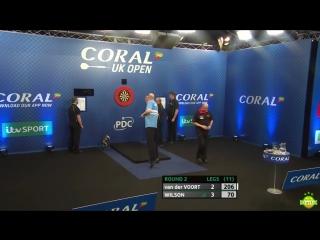 Vincent van der Voort vs James Wilson (Coral UK Open 2017 / Round 2)