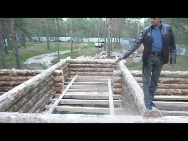 Сруб дома в Рязанской обл.из Мордовии