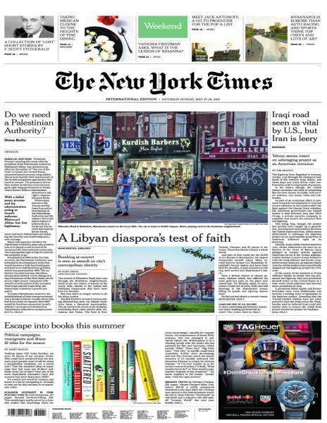 International New York Times 27 May 2017p FreeMags