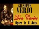 Giuseppe Verdi VERDI DON CARLOS OPERA IN CINQUE ATTI