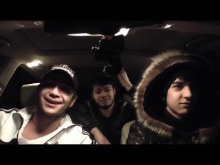 Про бывшую парень красиво зачитал реп в машине с друзьями !!!