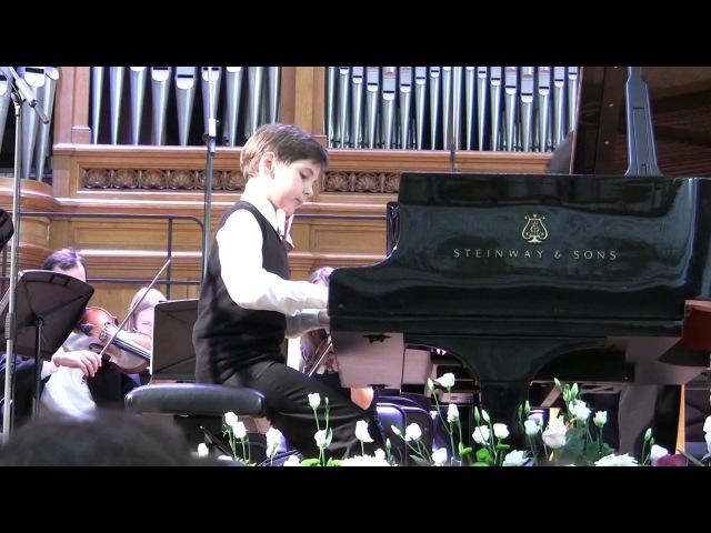 В.А.Моцарт. Концерт для фортепиано с оркестром №20 ре-минор, 1 часть