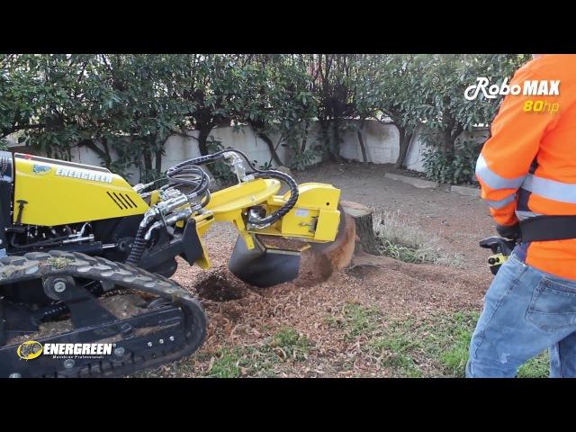 RoboMAX - Fresa Ceppi - Stump Grinder - Energreen Professional Machines