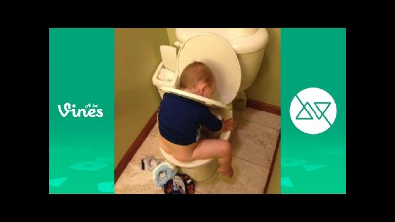 TRY NOT TO LAUGH OR GRIN - Funny Kids Fails Compilation 2016 by AlotVines