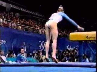 Elena Zamolodchikova (RUS) - 2000 Olympic Games EF VT