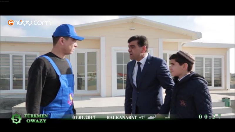 Ahmet A we Tikgi Taze Yyl Arzuwy 2017 filmden 1 bolek