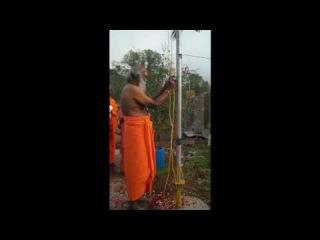 Гуру-пуджа Агастьяра, МахаЯгья, Освещение Храма 18 Сиддхов.