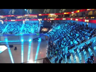 View from inside shanghai oriental sports center. #dac2017