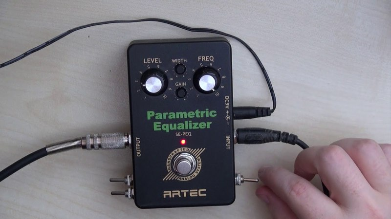Circuit Bending Artec Parametric EQ