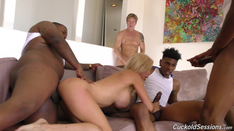 Cuckold Sessions Alexis Fawx (1080p) Interracial, Creampie, 3 on 1, Fetish, Big Tits, Blonde, Cougars, MILF,