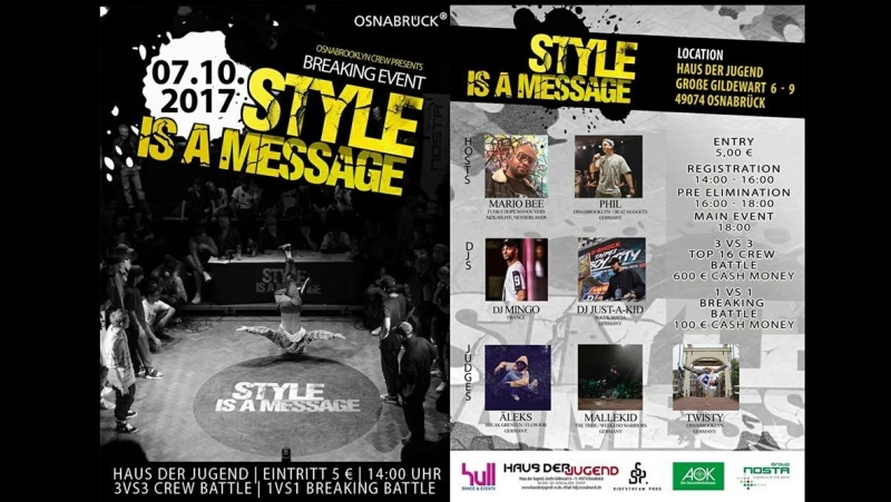 Metro519/Style is a Message 2017 Vol.9/Osnabrück(Germany)