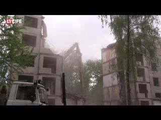 Снос 5-этажки в Москве