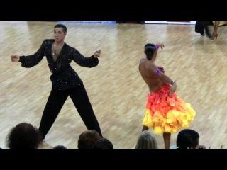 Vladimir Karpov - Maria Tzaptashvili, Prague Open 2011, WDSF Int. open latin, 5. round - samba