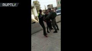 RAW: IDF detain a three-year old in Hebron