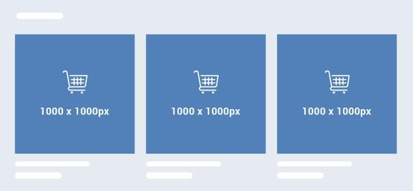 Размеры товаров вконтакте