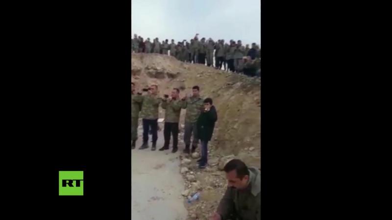 Turkei veranstaltet Konzert Osmanische Kriegsmusik fur Soldaten im Kampfeinsatz um Afrin