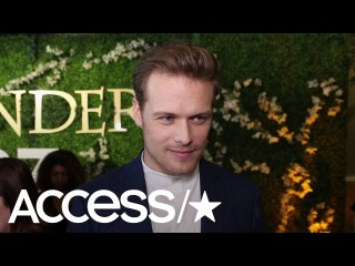 'Outlander's' Sam Heughan On Working With David Berry & Playing Jamie & Claire's 'Amazing Journey'