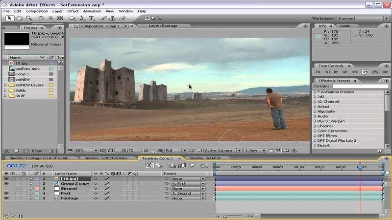 Adobe After Effects - Set Extensions - VideoCopilot.net