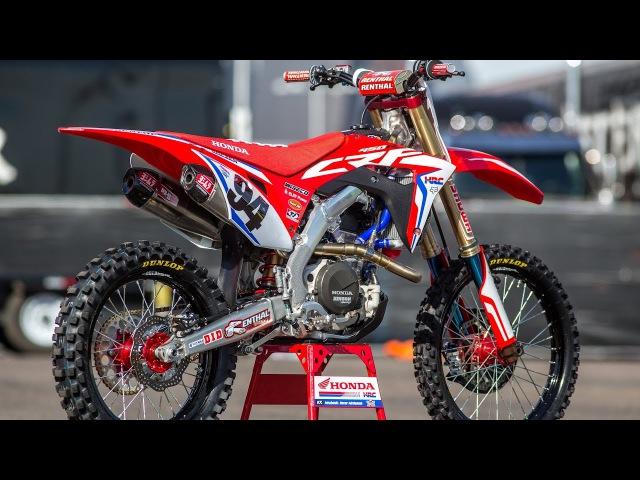 Inside Ken Roczen's Factory Honda CRF450 Motocross Action Magazine