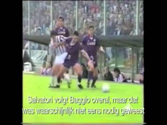 Baggio torna a Firenze con la maglia della Juve