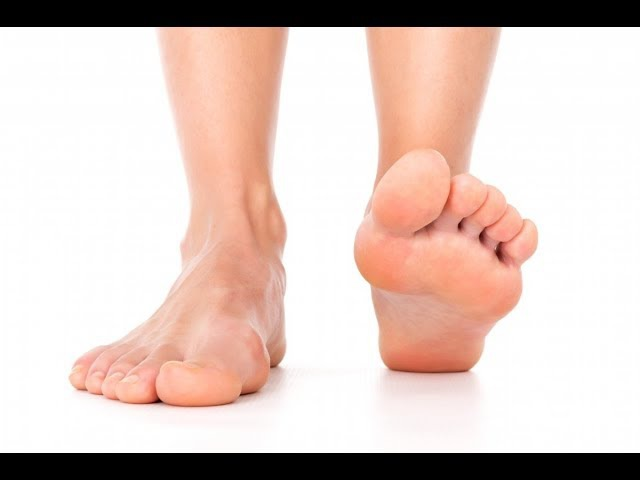 Упражнение при плоскостопии