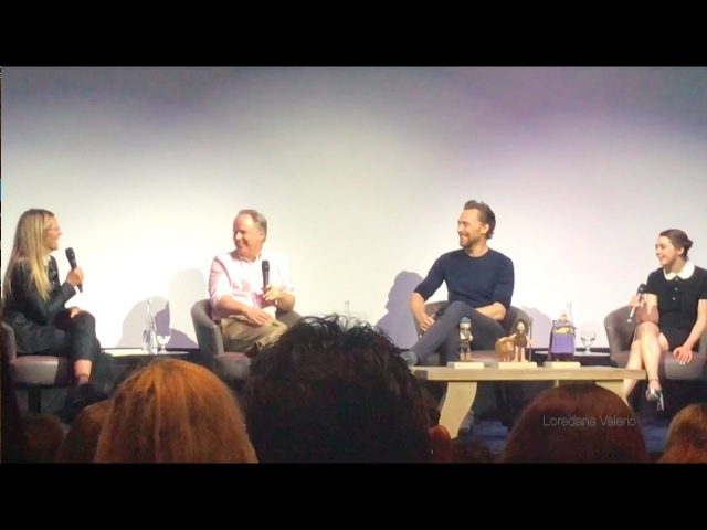 Early Man Exclusive Footage Screening and Q A with Tom Hiddleston Maisie Williams and Nick Park
