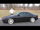 BMW - 850CSi обзор тест драйв