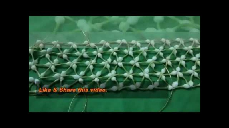 How to make Bridal Netted Jada Netted Jadai Pelli Poola Jada